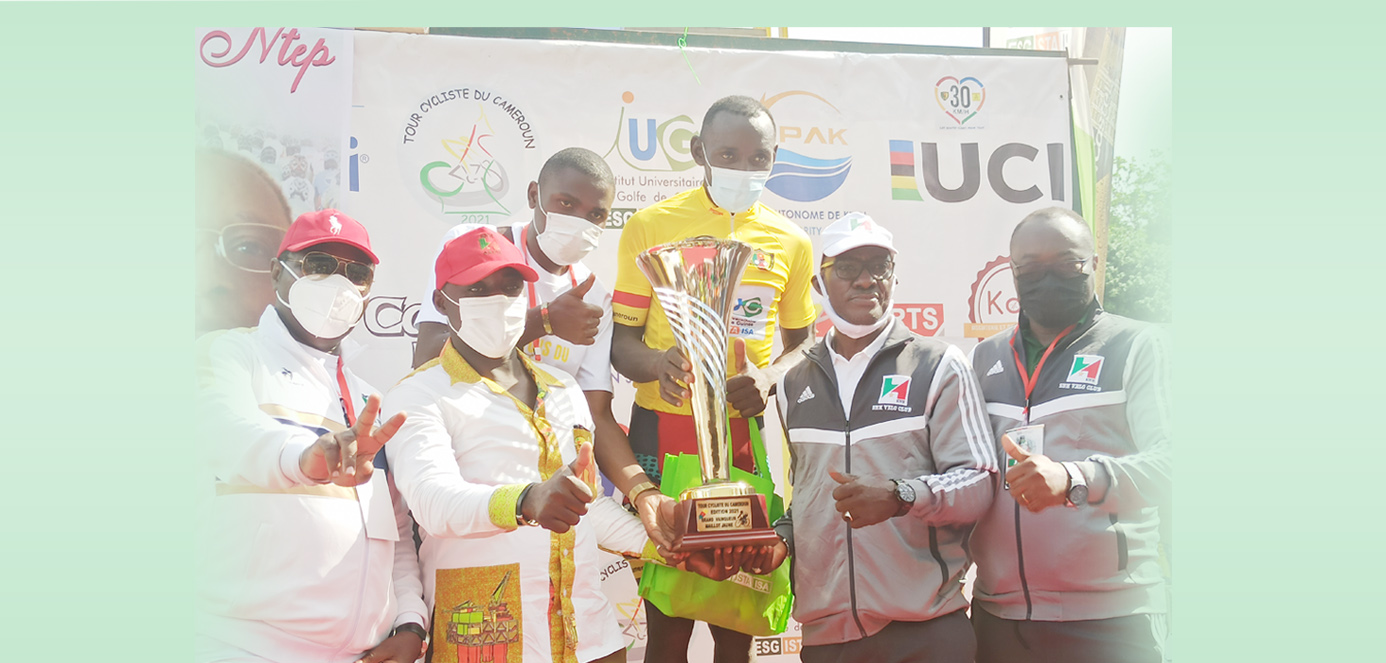 Tour of Cameroon 2021: Clovis Kamzong Abossolo wins the Yellow Jersey.