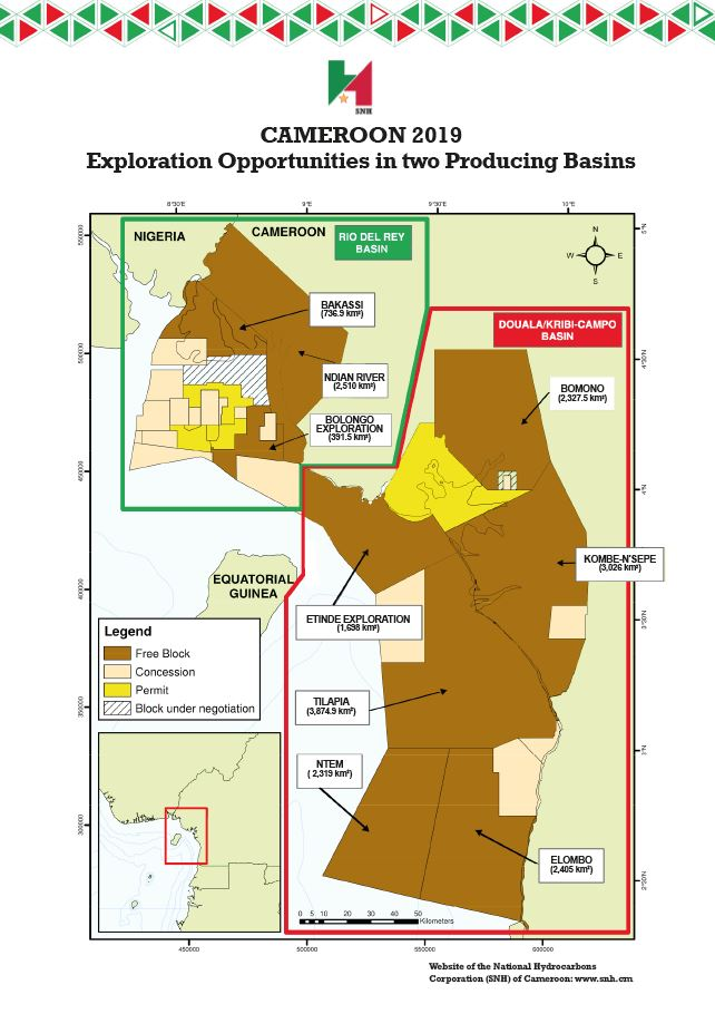 cameroon exploration production opp