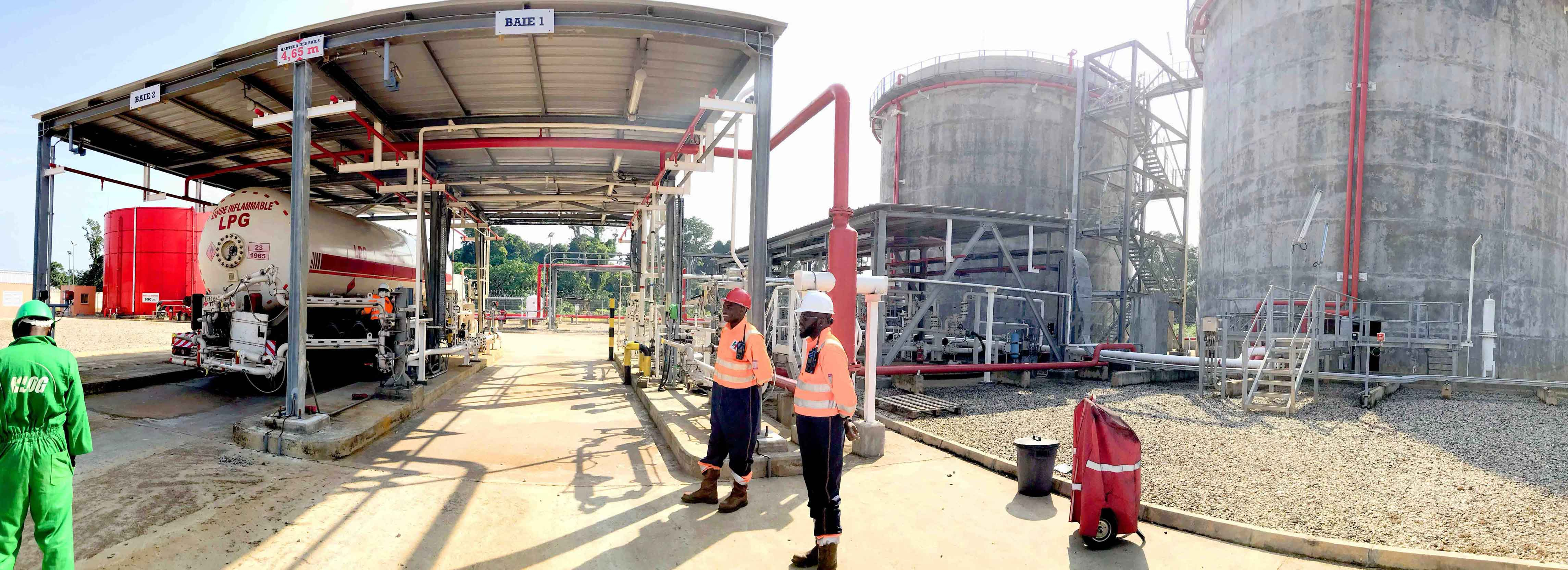 The LPG depot's contribution lauded by distribution companies