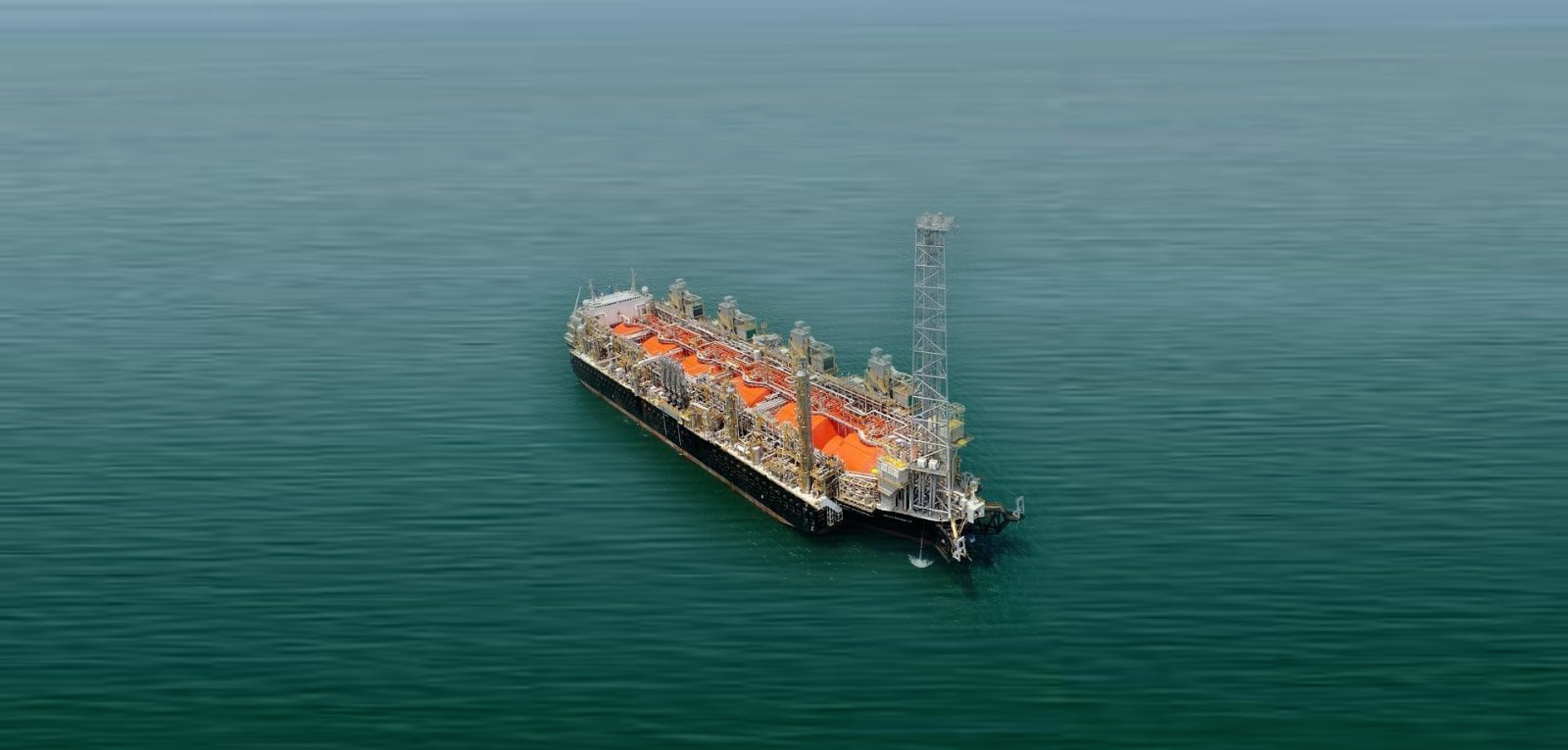 The Hilli Episeyo is installed offshore Kribi